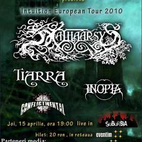 Concert Kathaarsys in Suburbia - Intuition European Tour