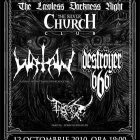Watain, Destroyer 666 si Otargos - Reaping Death Tour 2010 in TSC