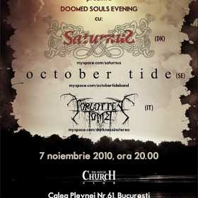 Doomed Souls Evening cu Saturnus, October Tide, Forgotten Tomb in TSC