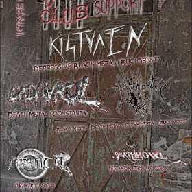 Concert Kistvaen, Cadavrul, Apa Sambetii, Carpatica si Deathhowl in club Cage