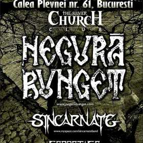 Concert Negura Bunget, Sincarnate si Carpatica in club The Silver Church