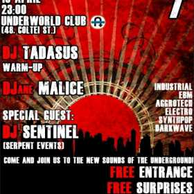 Tanz Die Revolution Party editia a 7-a in Club Underworld