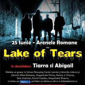 Concertul Lake of Tears: detalii acces