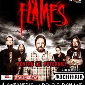 Concert In Flames in Bucuresti la Arenele Romane