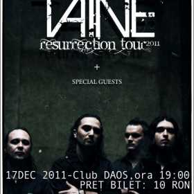 Concert Taine in club Daos din Timisoara
