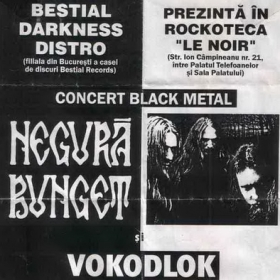 NEGURA BUNGET, Graven, Vokodlok (Metal Under Moonlight IV, 03.03.2001)