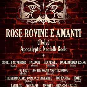 Rose Rovine E Amanti este a paisprezecea trupa anuntata la Dark Bombastic Evening 4