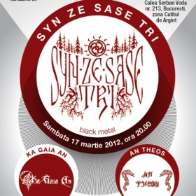 SYN ZE SASE TRI, Ka Gaia An, An Theos (Metal Under Moonlight XXVII, 17.03.2012)