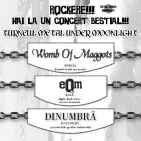 WOMB OF MAGGOTS, Eqm, DinUmbra, Black Flag (Metal Under Moonlight XII, 08.10.2004)