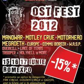 Bilete mai ieftine cu 15%  pentru OST Fest