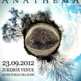 Concert Anathema, 23 septembrie in Jukebox Venue Bucuresti