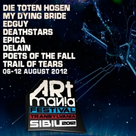 Edguy si My Dying Bride canta la Artmania 2012