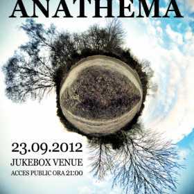 Concert nr. 9 Anathema in Romania