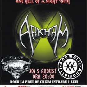 Concert Arkham in Ageless Club&Pub