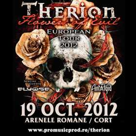 Concert Therion in Romania