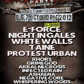 Night In Gales, Protest Urban, Whispering Woods si Grimegod - noi trupe confirmate la Metal Crush Party