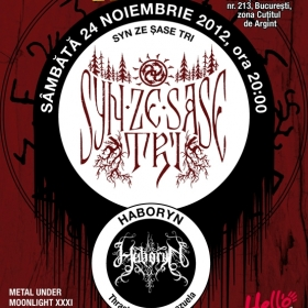 SYN ZE SASE TRI, Haboryn (Metal Under Moonlight XXXI, 24.11.2012)
