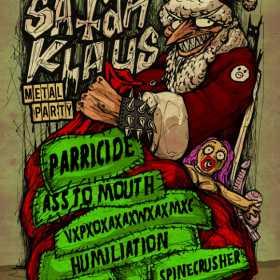 Parricide - cap de afis la ultima editie Satan Klaus Metal Party