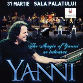 Biletele pentru concertul YANNI se vand in ritm alert