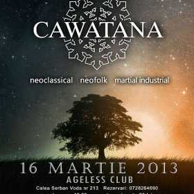 Concert Cawatana la Interplanetary Night I in Ageless Club din Bucuresti