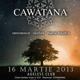 Concert Cawatana la Interplanetary Night I in Ageless Club din Bucuresti