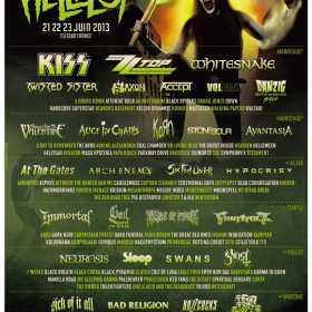 Hellfest Open Air 2013 aproape si-a definitivat lineup-ul