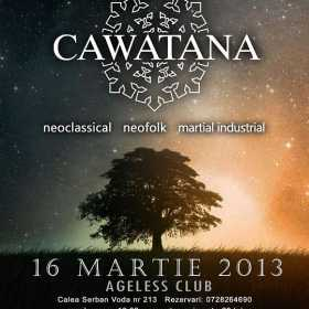 Program si afterparty Interplanetary Night I : Cawatana in Ageless Club