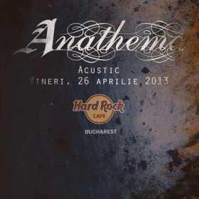 Concert acustic Anathema in Hard Rock Cafe din Bucuresti