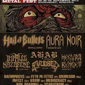 Avulsed si Negura Bunget confirmate la November to Dismember Metal Fest