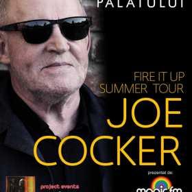 Concert JOE COCKER: o categorie de bilete epuizata!