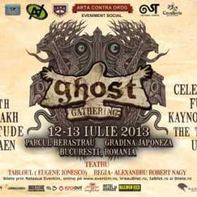 Concert acustic Universe217 si piesa de teatru 'Tabloul', la Ghost Gathering