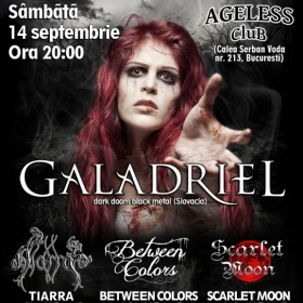 GALADRIEL, Tiarra, Between Colors, Scarlet Moon (Metal Under Moonlight XXXIII, 14.09.2013)