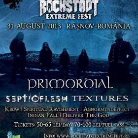 Mesaj dela PRIMORDIAL pentru Rockstadt Extreme Fest