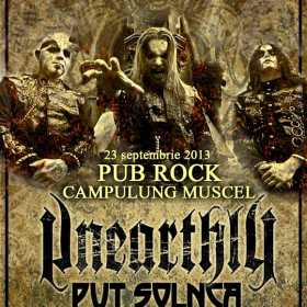 Concert Unearthly, Put Solnca si Melancholy in Pub Rock