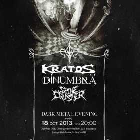 Dark Metal Evening cu Kratos, Dinumbra si Spinecrusher in Ageless Club