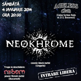 NEOKHROME, Reborn (Metal Under Moonlight XXXVI, 04.01.2014)