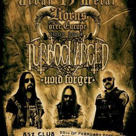 Concert Turbocharged si Void Forger in Club B52 din Bucuresti