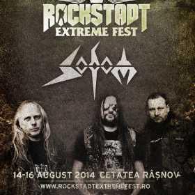 SODOM (Germania) la Rockstadt Extreme Fest 2014