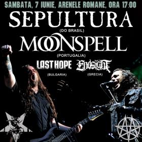 Trupele Moonspell, Sepultura, Last Hope si Endsight confirmate la Metalhead Meeting 2014