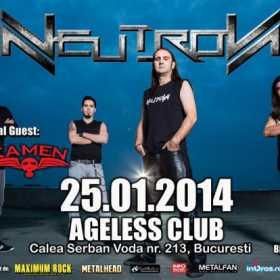 Ultimele detalii referitoare la concertul Neutron si Kamen in Ageless Club