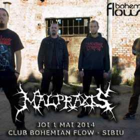 Handful of Hate (Italia), Whispering Woods si Malpraxis la '1 Mai Rock Festival Sibiu 2014'