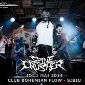 SPINECRUSHER (hellish deathrash metal/Bucuresti)
