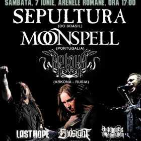 Arkona pe scena Metalhead Meeting alaturi de Sepultura si Moonspell
