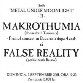 MAKROTHUMIA, False Reality (Metal Under Moonlight VI, 02.09.2001)