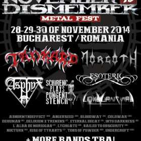 Morgoth si Asphyx la November to Dismember Metal Fest