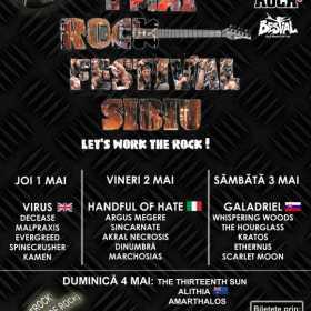 TRock (targul de CDuri si tricouri rock) la '1 Mai Rock Festival Sibiu 2014'!