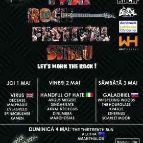 Zece motive sa vii saptamana viitoare la '1 Mai Rock Festival Sibiu 2014'