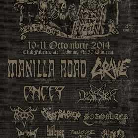 Manilla Road confirmati la Romanian Thrash Metal Fest editia a 3a - Old Grave Fest