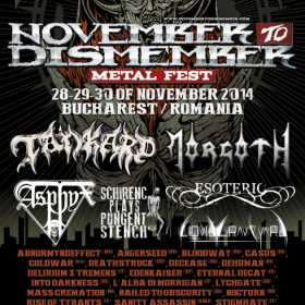 8 trupe noi confirmate la November to Dismember Metal Fest