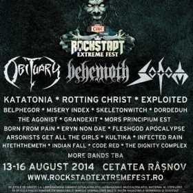 Inca 7 nume confirmate la Rockstadt Extreme Fest 2014